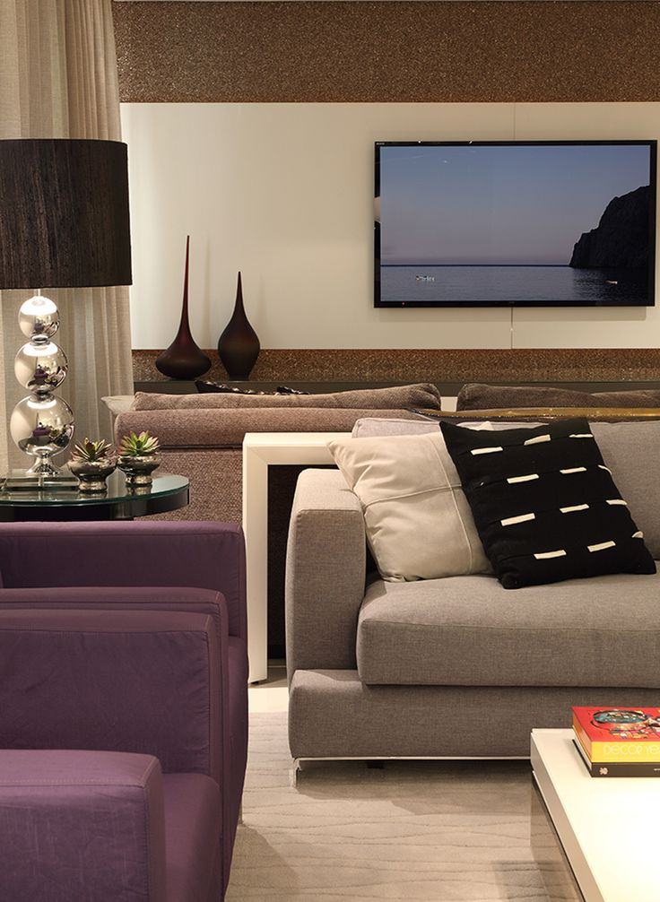 Living Room - Fab colour palette, accents  decor....simply chic.
