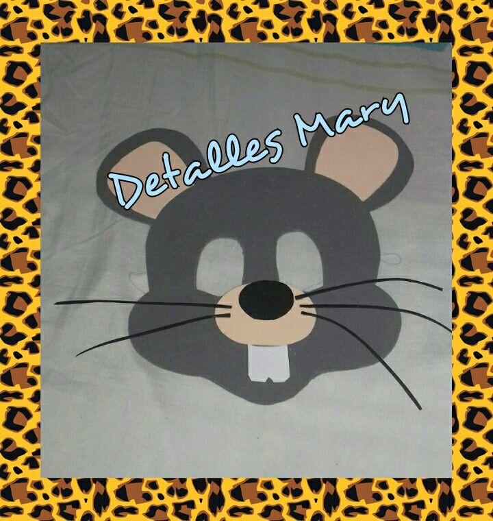 Máscaras de ratón en foami