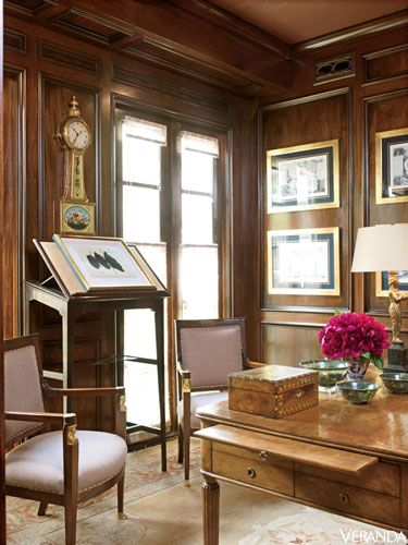 Wood Paneled Office: 22 Best Images About Beautiful Interiors