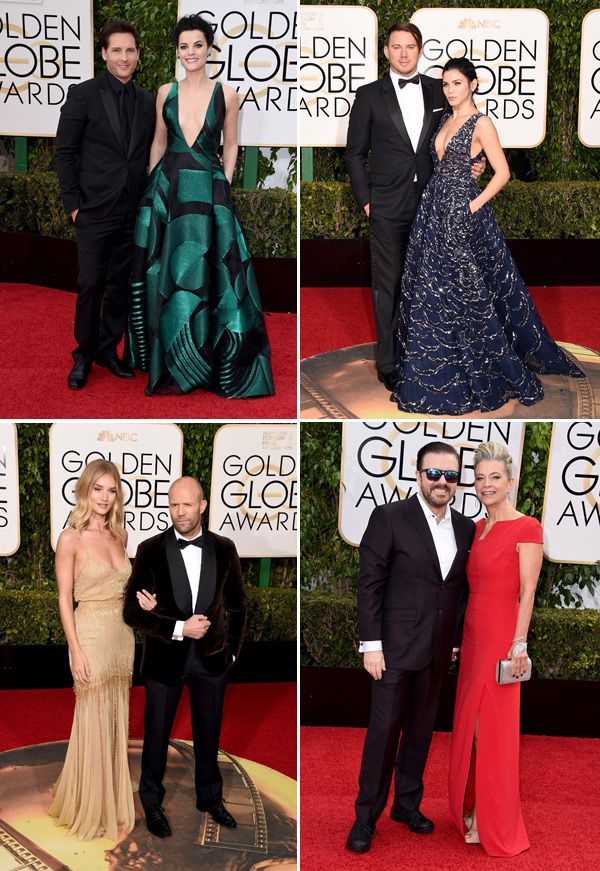 From Channing Tatum and Jenna Dewan-Tatum to Melissa Benoist and Blake Jenner, the 2016 Golden Globe Awards red carpet was filled with so many amazing celebrity couples.