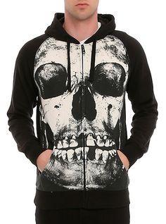 Iron Fist Skull Hoodie | Hot Topic
