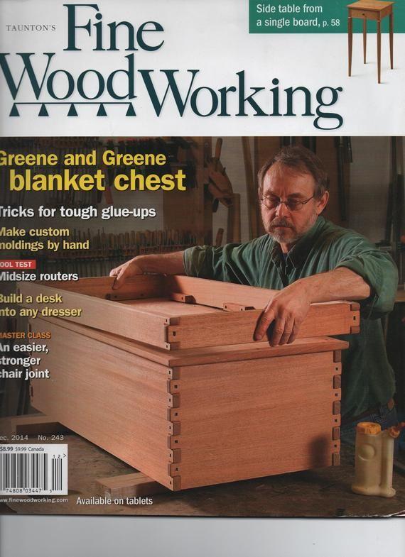 Taunton S Fine Woodworking Magazine December 2014 Illustrated 90