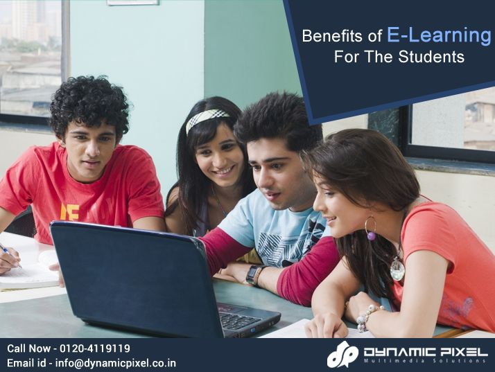 The whole idea of E-learning has been a revolutionary trend in this century and it has been benefiting students ever since it was introduced.  Read Here, Benefits of #ELearning For The Students - goo.gl/1FsDkz