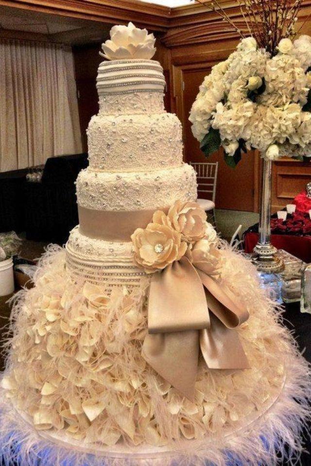 ... beaux gâteaux  Pinterest  Mariage, Gâteaux et Gâteau de mariage
