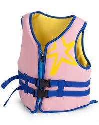 Schwimmweste NEOPRENE in rosa/lila