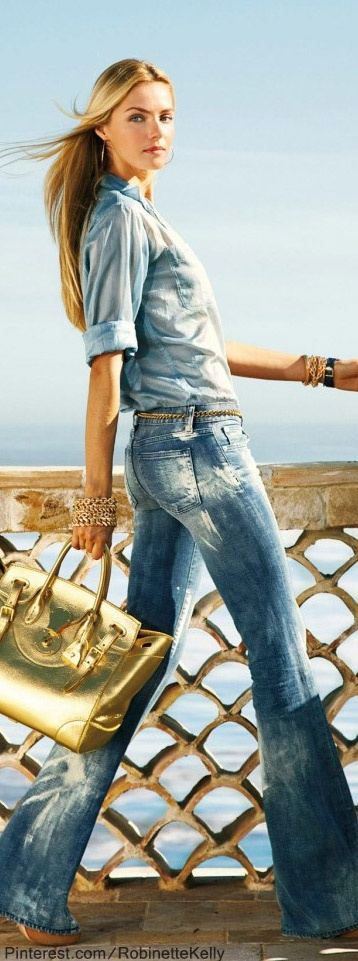 Ralph Lauren | Black Label Denim Spring-2013