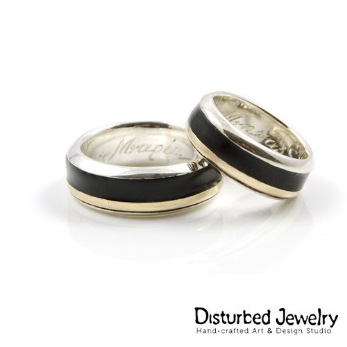 He stole her heart, so she stole his last name. Custom Wedding Rings made for a lifetime!