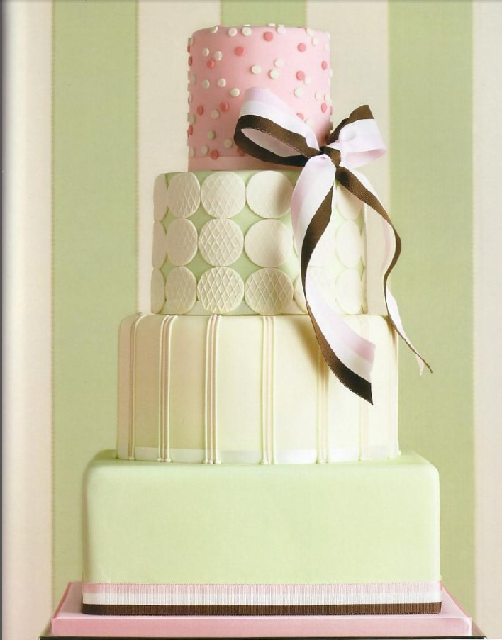 Peggy Porschen cake dots stripes