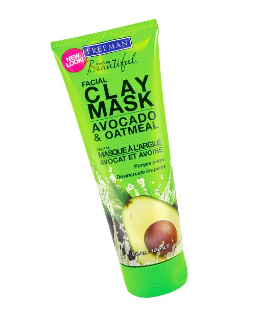 No. 14: Freeman Feeling Beautiful Avocado & Oatmeal Facial Clay Mask, $3.99