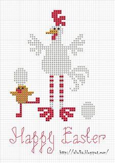 Mon tvorilki *** Aliolka conception: Coquelet se précipite à la fête de Pâques!