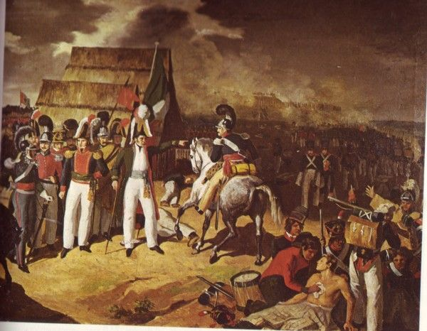 Carlos Paris, Battle of Tampico 1829