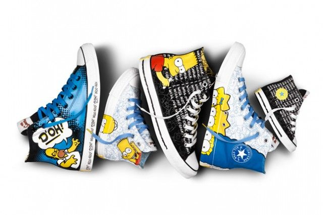 Converse - Simpsons Pack