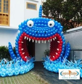 Balloons on pinterest for Balloon decoration in coimbatore