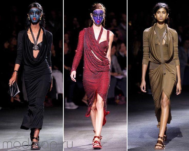 модные облегающие платья