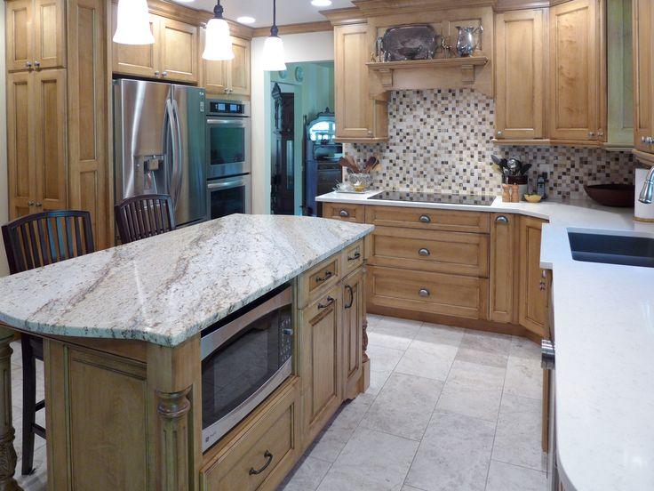 Kitchen Remodel Vortium Silestone Quartz Countertop With
