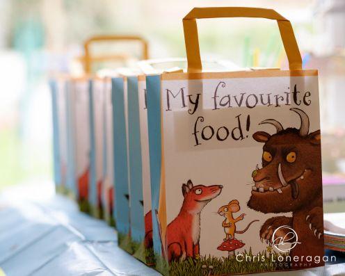 Gruffalo party bags