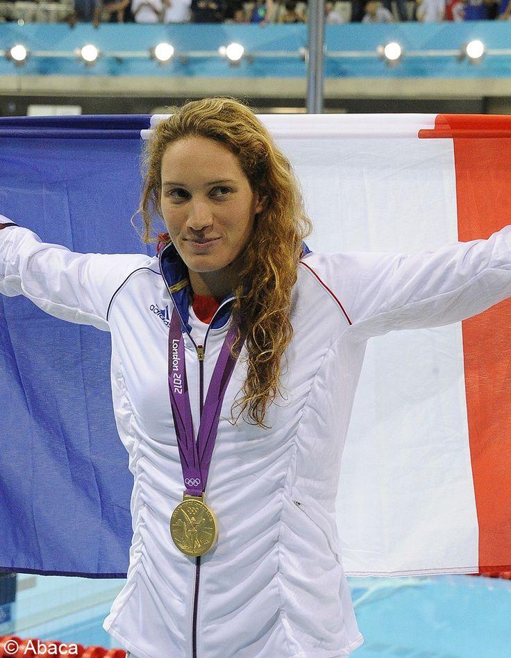 Camille Muffat medaillée d'or aux jeux  olympique à Londres en 2012