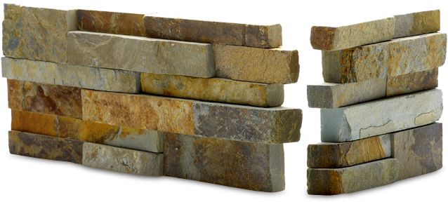 'Ochre' stone wall panels from Norstone