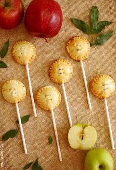 Party Food: Apple & Cinnamon Pie Pops Recipe