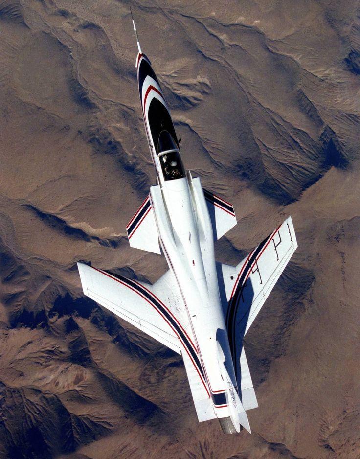 NASA X-29 Research Plane #Aircraft #Military #Jet