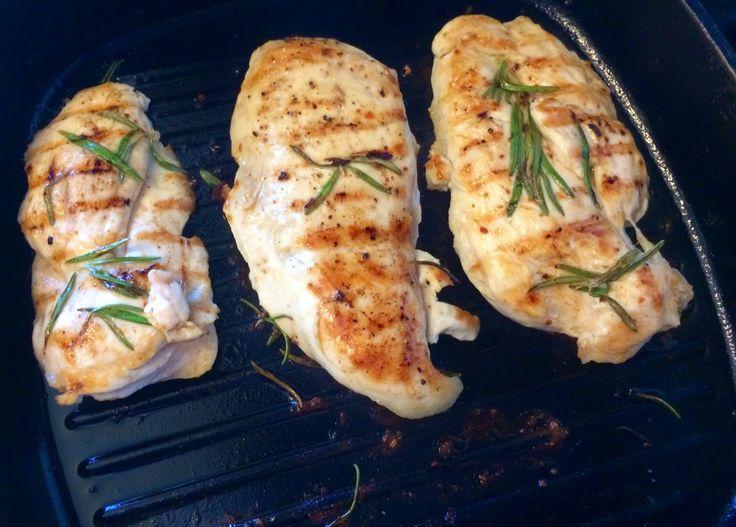 Невероятно простой способ вкусно пожарить куриное филе за 5 минут!, курица на гриле (Chicken Breast Grilled)