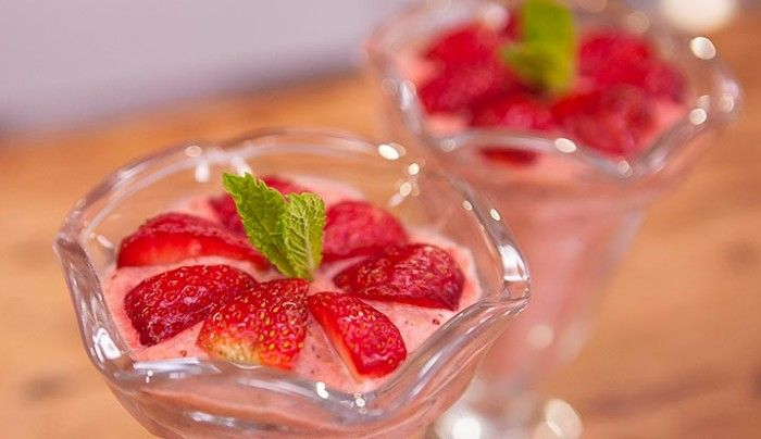 Apple and Strawberry Chilled treats   Good Chef Bad Chef