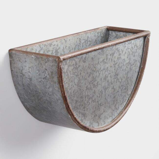 best 25 metal wall planters ideas on pinterest stuff. Black Bedroom Furniture Sets. Home Design Ideas