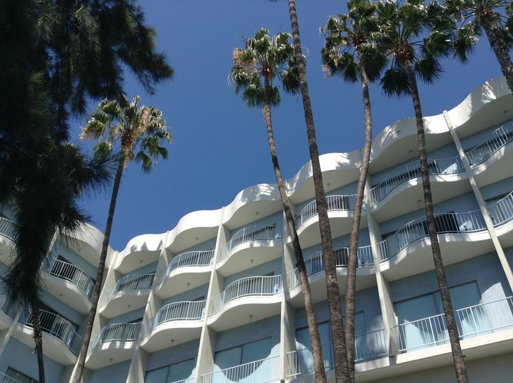 THE STANDARD on Sunset bld.  Los Angeles  http://standardhotels.com/hollywood/rooms/sunset