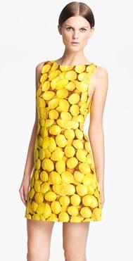 alice + olivia lemon-print dress | dresses | Pinterest ...