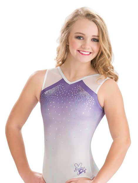Nastia Liukin Lavender Mist Leotard from GK Elite