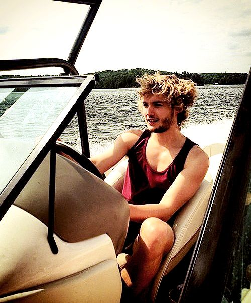 Toby Regbo | Lake Rousseau (Ontario) 12/7/14