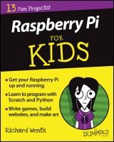 Book Jacket for: Raspberry Pi for kids for dummies