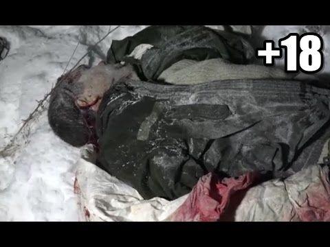 Guerra na Ucrânia - Soldados ucranianos mortos em Debaltsevo +18