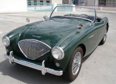 1954 Austin Healy just like mine in storage. Someday I will finish it.