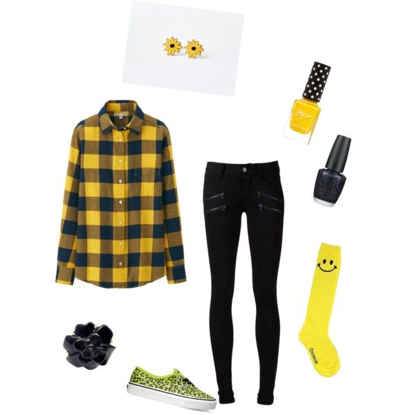 go shockers go by makaylajohnson19 on Polyvore featuring polyvore fashion style Uniqlo Paige Denim Hollywood Mirror Vans Chanel OPI