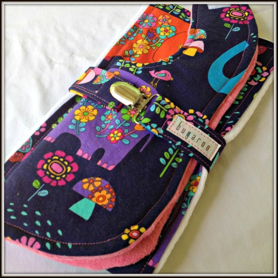 @Bugaroo Boutique Baby Bib Cloth Diaper Burp Cloth and Pacifier by bugarooboutique, $18.50