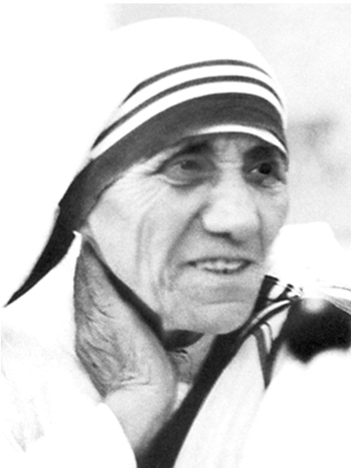 1979 Mother Teresa: 1910-1997: India. At the age of twelve,