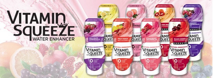#VitaminSqueeze Powder Water Enhancers #squeeze #water #drinkmorewater #vitamins #health #fitness
