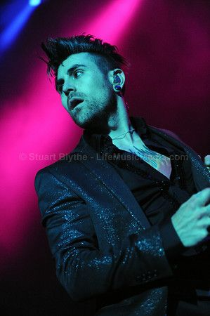 Gorgeous...fucking gorgeous. Davey Havok