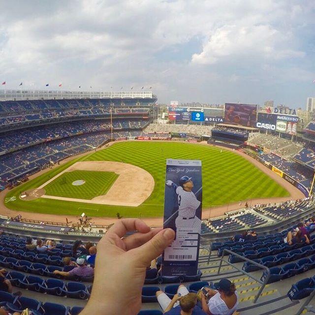 📸: Yankee stadium ⚾️ soak up the atmosphere and fun of a baseball game at this world famous stadium 🍺 www.thegirlswhowander.com #thegirlswhowander #yankeestadium #yankees #baseball #bronx #newyork #usa