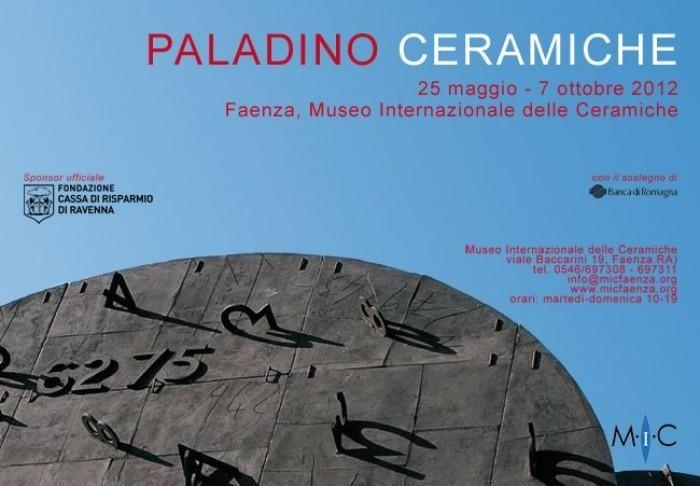 Mimmo Paladino e l'opera ceramica al MIC di  Faenza dal 25 maggio al 7 ottobre 2012