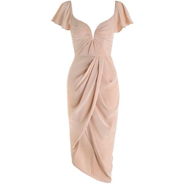 ZIMMERMANN Silk Flutter Dress (13 145 UAH) ❤ liked on Polyvore featuring dresses, zimmerman, lily dress, ruffle dress, ruffle sleeve dress, pink ruffle dress and zimmermann dresses
