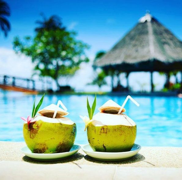 Resort in Goa, India.  Create your trip plan to GOA - www.TripJinnee.com #coconut #resort #holiday #beach #goa #india #travel #amazing #beautiful #sea #nice #enjoying #india #triptogoa #traveltogoa #goatourism #triptoindia #travel #indiatravel #incredibleindia #girls #colorful #tripjinnee #blue #water