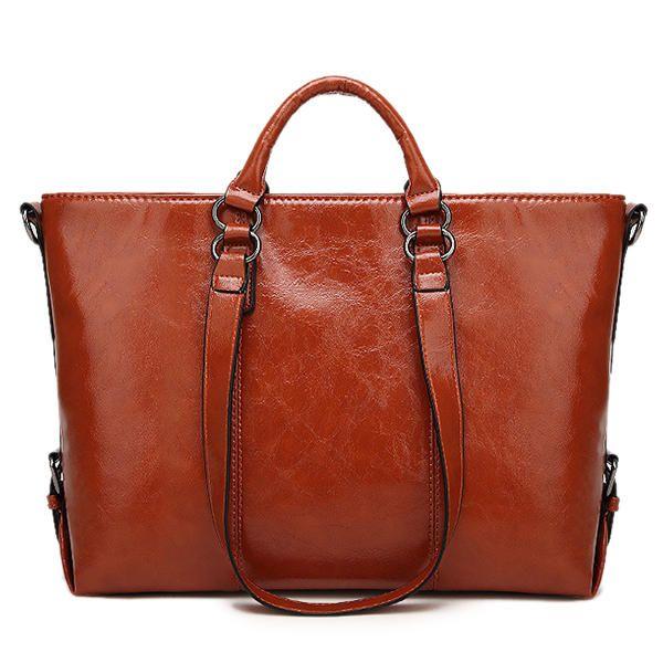 Women Fashion Minimalist Handbag Leisure Business Shou  #men #women  #bags #fashionlder Bag Tote Bag - US$34.98