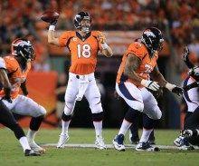 Peyton Manning brilla en victoria de los Broncos 49-27 ante los Ravens