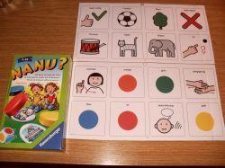 Kommunikationstafeln für Brettspiele