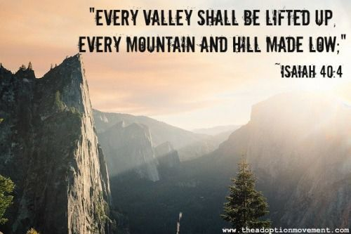 mountain bible verses - Google Search