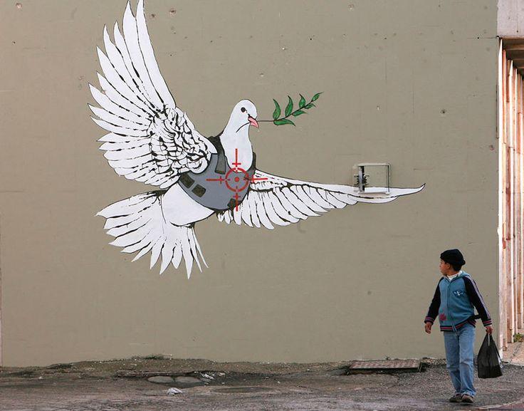 Belén, Cisjordania - Mira 20 De Las Mejores Ciudades Del Mundo Para Ver Arte Callejero   Upsocl