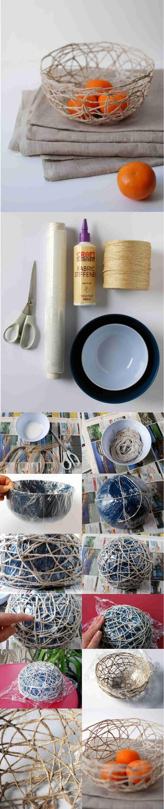 DIY String Bowl plus other great ideas for gifts