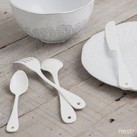 enamel cutlery